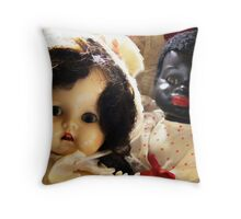 sweet faces Throw Pillow