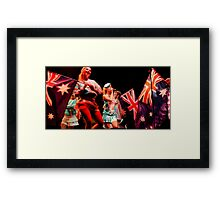The Aussie Patriot #2 Framed Print