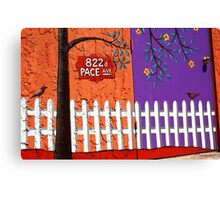 822 Pace Avenue Canvas Print