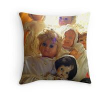 Beautiful Girls Throw Pillow