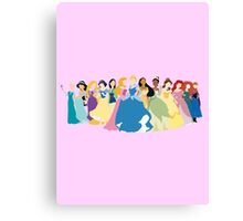 Princesses 2 Canvas Print
