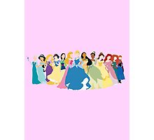 Princesses 2 Photographic Print