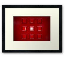 Hal Framed Print