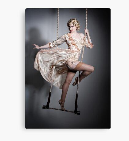 Burlesque Trapeze Canvas Print