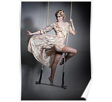Burlesque Trapeze Poster