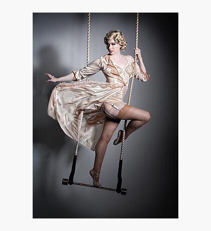 Burlesque Trapeze Photographic Print
