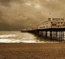 Brighton Grand Pier  by Rob Hawkins