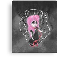 Absent-mindedly getting lost in the dark Canvas Print