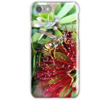 Waspy Bottle Brush iPhone Case/Skin
