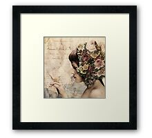 She walks in beauty... Framed Print