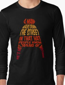 A man walks down the street... Long Sleeve T-Shirt