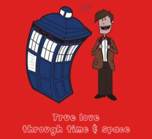 True love through time& space Baby Tee