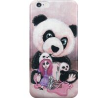 Candie and Panda iPhone Case/Skin