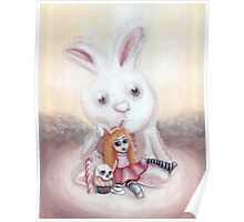Ester and Bunny Poster