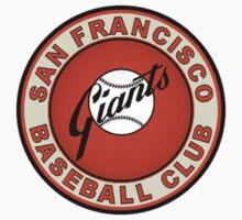 San Francisco Giants logo 3 Kids Clothes