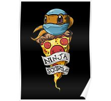 Ninja Squirtle Poster
