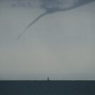 Funnel Cloud Over The English Channel by Jane Burridge