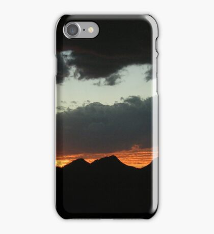 A Range of Clouds iPhone Case/Skin