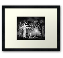 rest in expectation Framed Print