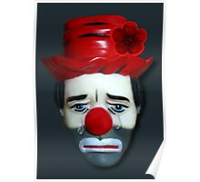 THE TEARS OF A CLOWN...WHEN THERES NO ONE AROUND...PICTURE-PILLOW- TOTE BAG- CARD ECT.. Poster
