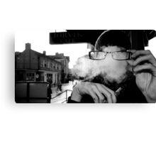 Hidden Shisha Smoke Canvas Print