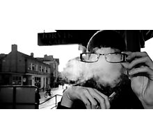 Hidden Shisha Smoke Photographic Print