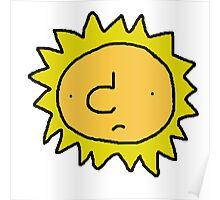 Unhappy Sun Poster