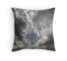 Cumulus Ribs Throw Pillow