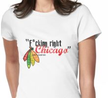 Corey Crawford strikes again Womens Fitted T-Shirt