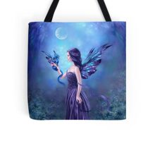 Iridescent Fairy & Dragon Tote Bag
