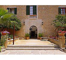 Es Port Hotel..................................Majorca Photographic Print