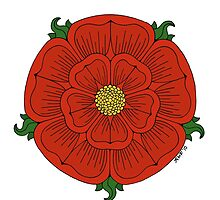 Red Rose of Lancaster by Richard Fay