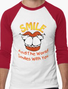 Smile and the World Smiles with You (v1b)  T-Shirt