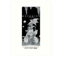 Metroid 3 Art Print