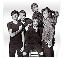 One Direction (with Zayn) Poster