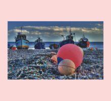 Boats on the beach One Piece - Long Sleeve