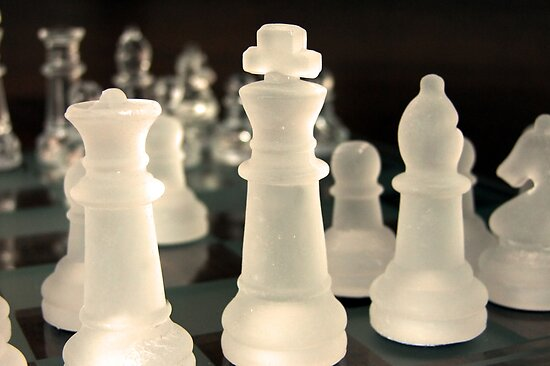 Chess Pieces by Jan  Tribe
