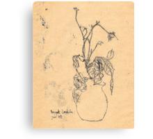 bouquet sordide Canvas Print