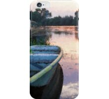 The Tranquil Elbe River iPhone Case/Skin