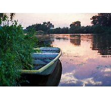 The Tranquil Elbe River Photographic Print