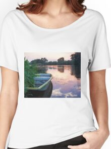 The Tranquil Elbe River Women's Relaxed Fit T-Shirt