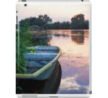 The Tranquil Elbe River iPad Case/Skin
