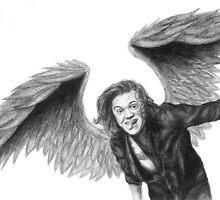 Curly Angel by LisaBuchfink