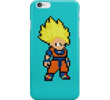 Super Saiyan Goku 8MB iPhone Case/Skin