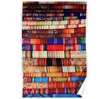 Bright Colored Linens Poster
