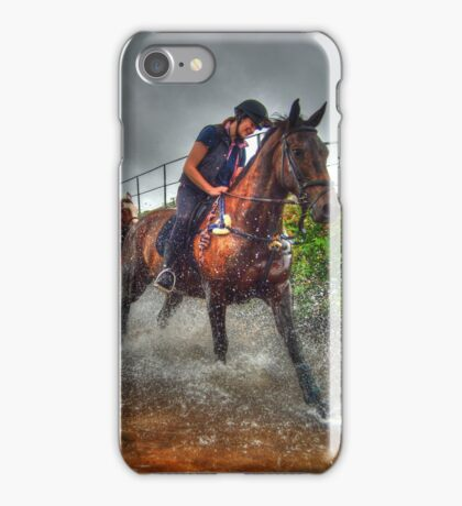 Water Horses HDR  iPhone Case/Skin
