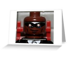 Lego the blue pill or the red pill Greeting Card