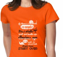 For a clown fish, he's not that funny. Womens Fitted T-Shirt