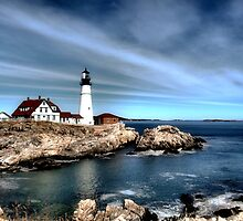 Portland Head Light by George's Photography