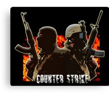 Counter-Strike Canvas Print